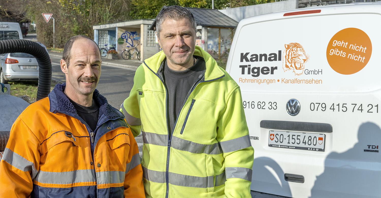 Kanaltiger GmbH Home